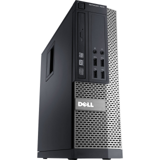 Desktop DELL Optiplex 7010, oricesor I7 3770, 8 GB RAM, HDD 320 GB, DVD-RW , placa video ATI RADEON HD7470 1 GB, SFF