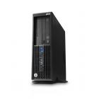 Desktop HP Z230  cu procesor Intel Xeon E3-1245 3400 Mhz, 16 GB RAM , SSD 128 GB, GT218