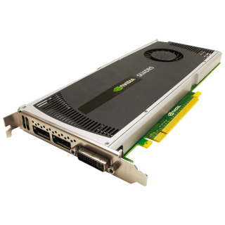 Placa Video nVidia Quadro 4000, 2GB GDDR5, 256BIT, 2 X Display Port, 1 X DVI