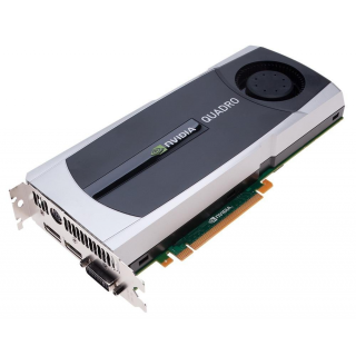 Placa Video nVidia Quadro 6000, 6GB GDDR5, 384BIT, 2 X Display Port, 1 X DVI