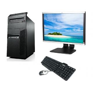 Sistem Desktop PC, cu procesor Intel Core i5 3470 3200 Mhz, 4 GB RAM, 250 GB HDD, DVD-RW+ Monitor 22 inch + Tastatura + Mouse