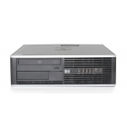 Desktop HP 8000 Elite, Intel Core 2 Duo E8500 3166Mhz, 4 GB RAM, HDD 250 GB, DVD-RW, SFF