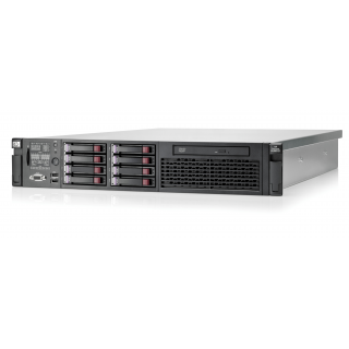 Server HP ProLiant DL380 G7, cu 2 procesoare Intel QUAD Core Xeon E5620, ram 24GB DDR3 ECC, 2 harduri x 600GB