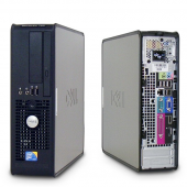 Desktop DELL OPTIPLEX 780 cu procesor Intel Core 2 Duo E8400 3000 Mhz | 4 GB RAM | Placa video Integrata