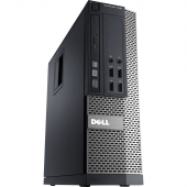 Desktop DELL Optiplex 7010, oricesor I7 3770, 8 GB RAM, HDD 320 GB, DVD-RW , placa video ATI RADEON HD7470 1 GB, SFF