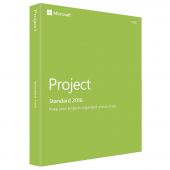 Microsoft Project Standard 2016 - All Languages - Second-Hand