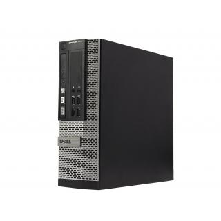 Desktop Dell Optiplex 7010 cu procesor i5 3570 quad-core, 4 GB RAM, SSD 128 GB, DVD-RW, SFF