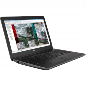 Laptop HP Zbook 15 G3, cu procesor i7 6820HQ, 16 GB RAM DDR4, SSD 256 GB, Placa Video nVidia Quadro M2000M