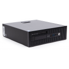 Desktop HP 600 G1, cu procesor Intel Core i3 4130, 8 GB RAM, HDD 500 GB, SFF