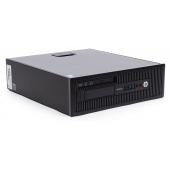 Desktop HP 600 G1, cu procesor Intel Core i3 4130, 8 GB RAM, HDD 500 GB, SFF