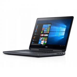 Dell Precision 7520 cu procesor i7 6820HQ 32GB RAM SSD 512GB 15.6 Quadro M2000M 24 luni GOLD Refurbished