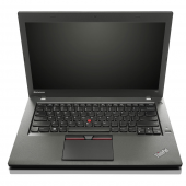 Lenovo ThinkPad T450 cu procesor i5 5300U 8GB RAM SSD 256GB 14 Integrata 24 luni GOLD Refurbished
